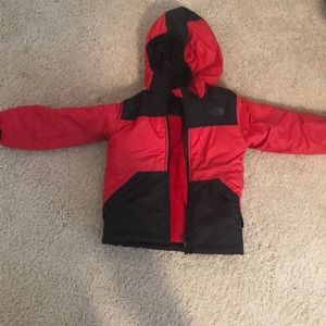 3 T the north face reversible jacket